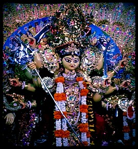 GODDESS DURGA RECENTLY CONCLUDED FESTIVAL