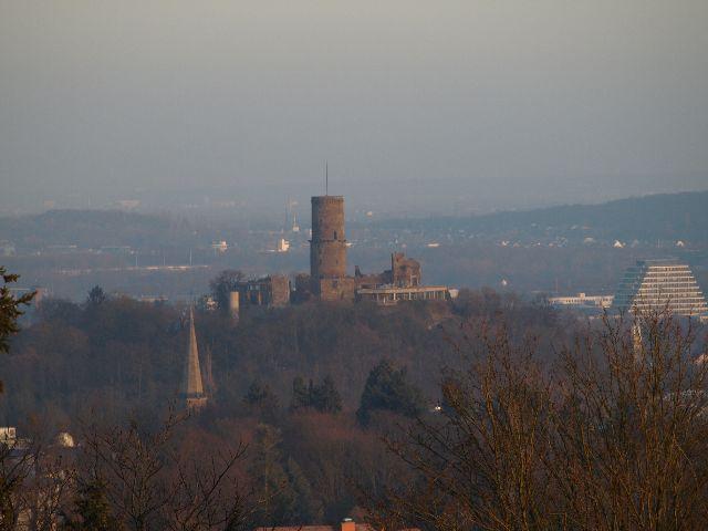Godesburg im Sonnenaufgang