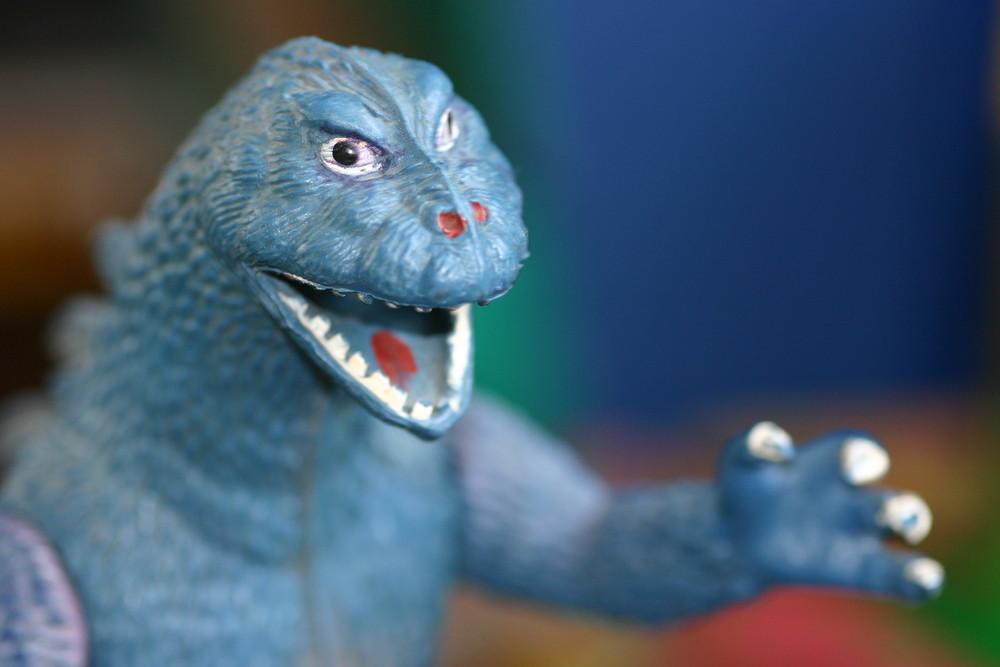Godzilla im Kinderzimmer