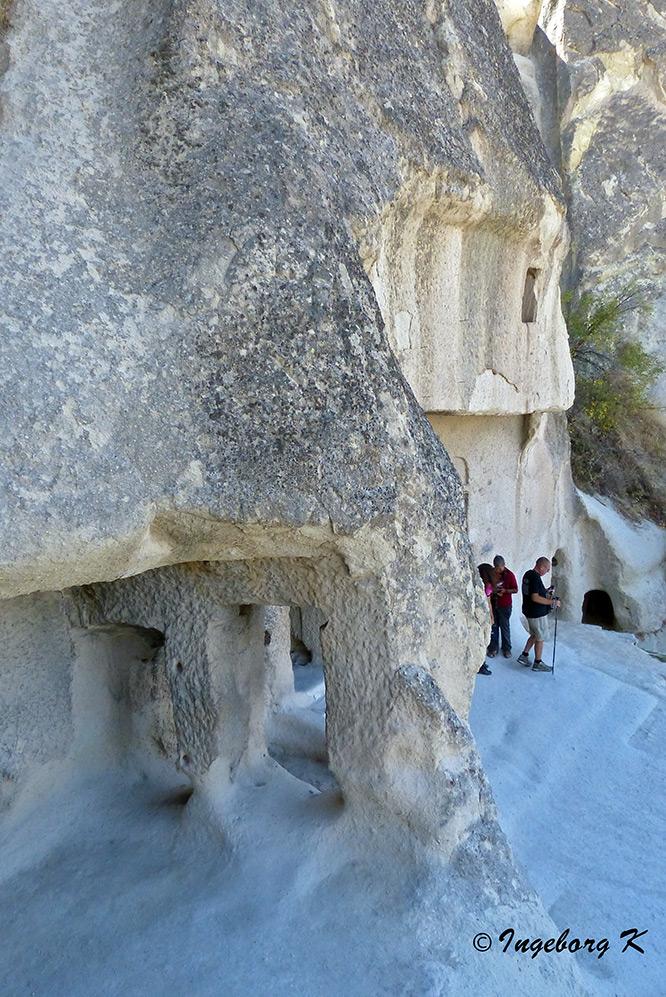 Göreme - Höhlen im Tuffstein