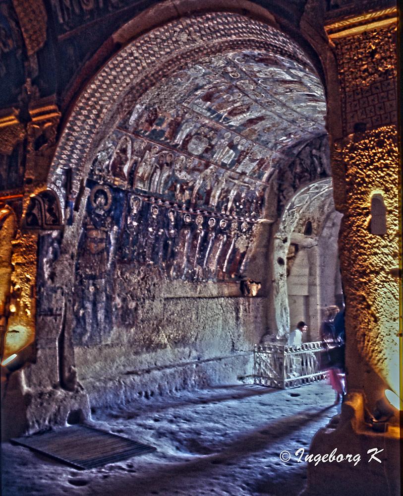 Göreme - Höhlenklöster - Scan vom Dia von 1985-3