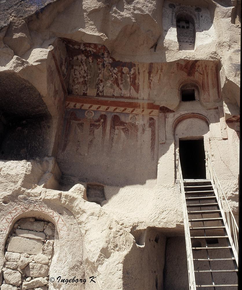 Göreme - Höhlenklöster - Scan vom Dia von 1985-4