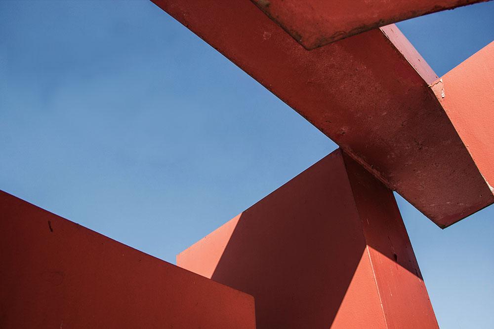Görlitz-Uferstraße-Stadt-Raum-Skulptur - Detail