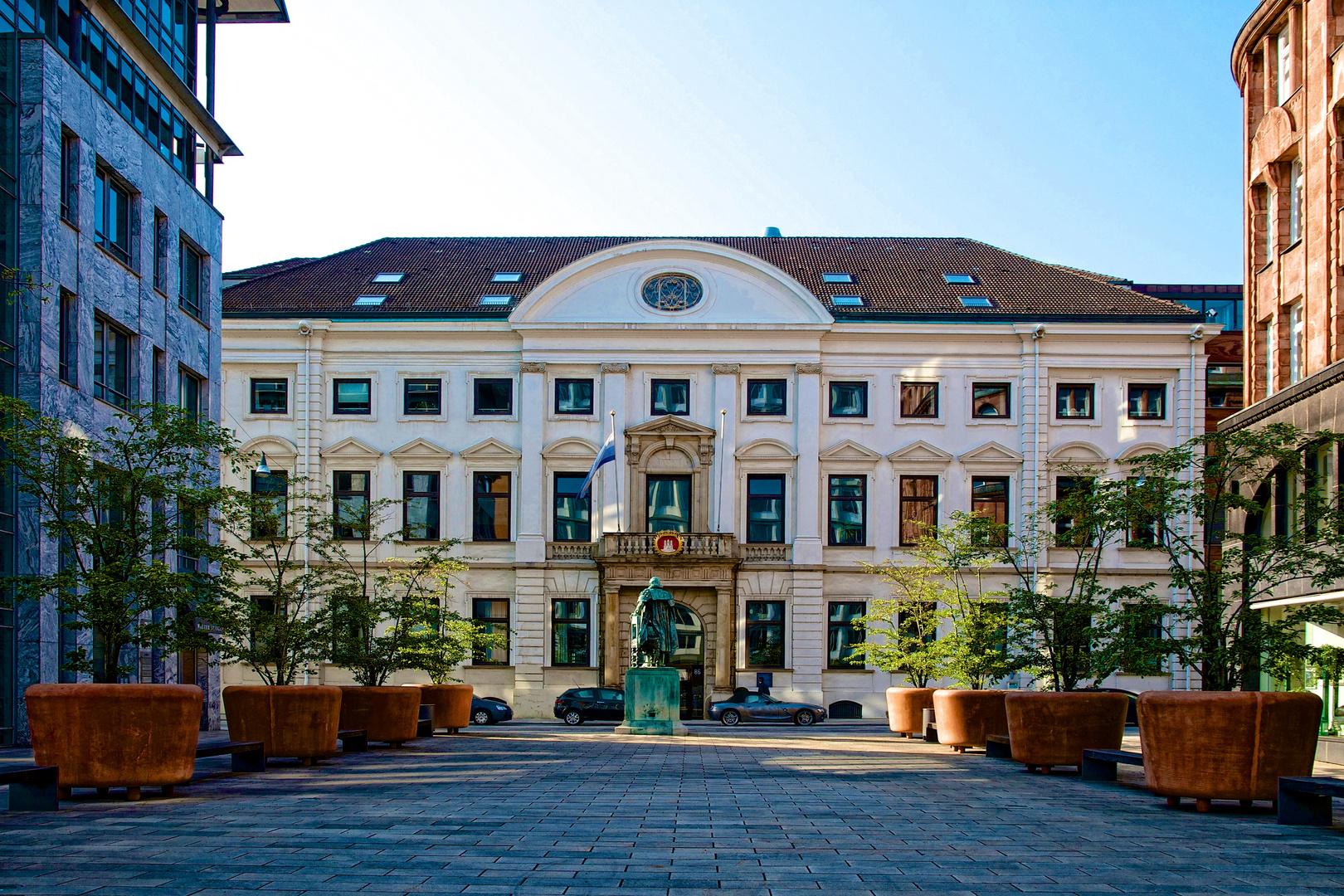 Görtz-Palais am Neuen Wall.