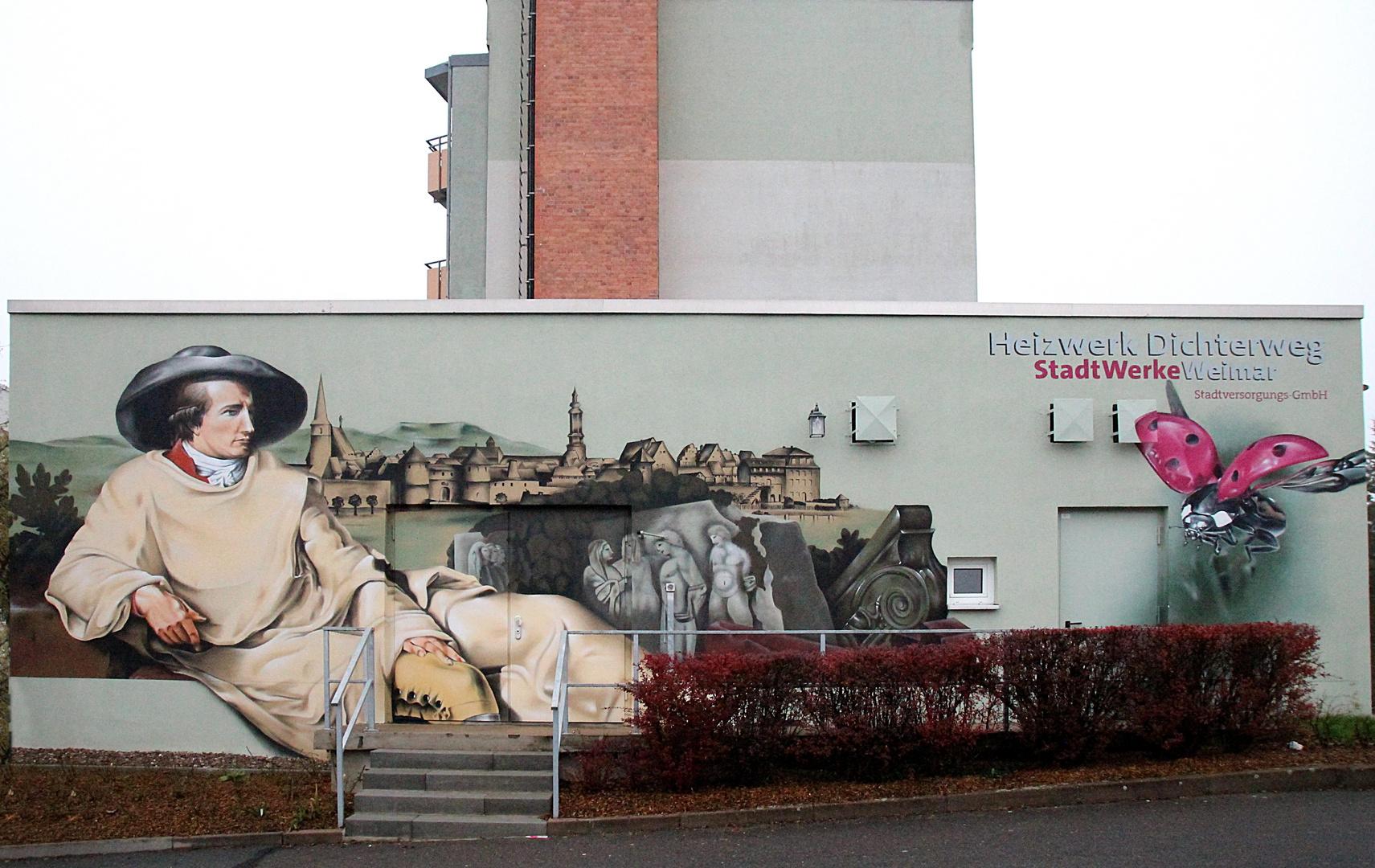Goethe, wo auch immer man hinsieht in Weimar