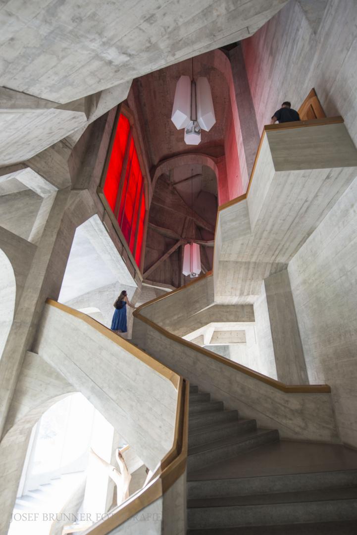 Goetheanum grosse Treppe