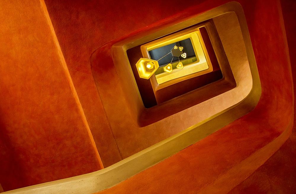 Goetheanum in Dornach - Blick nach oben
