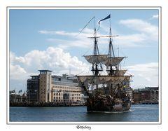 Götheborg leaving Malmö