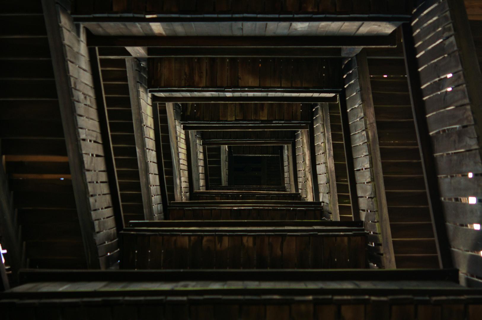 Goetheturm von unten