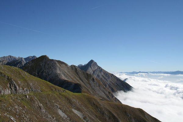 Göthweg oberhalb von Innsbruck