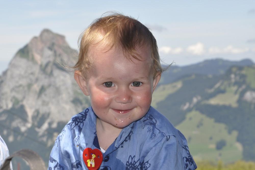 Göttemeiteli auf der Alp