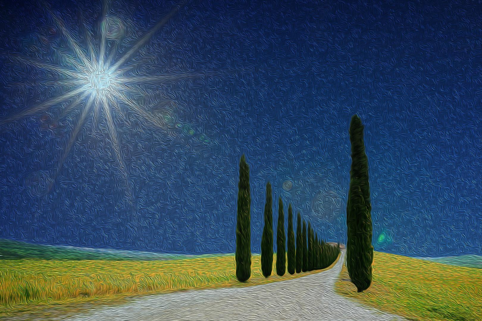 Gogh in Toskana