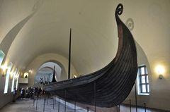 Gokstad - Schiff, hier noch mal im Ganzen
