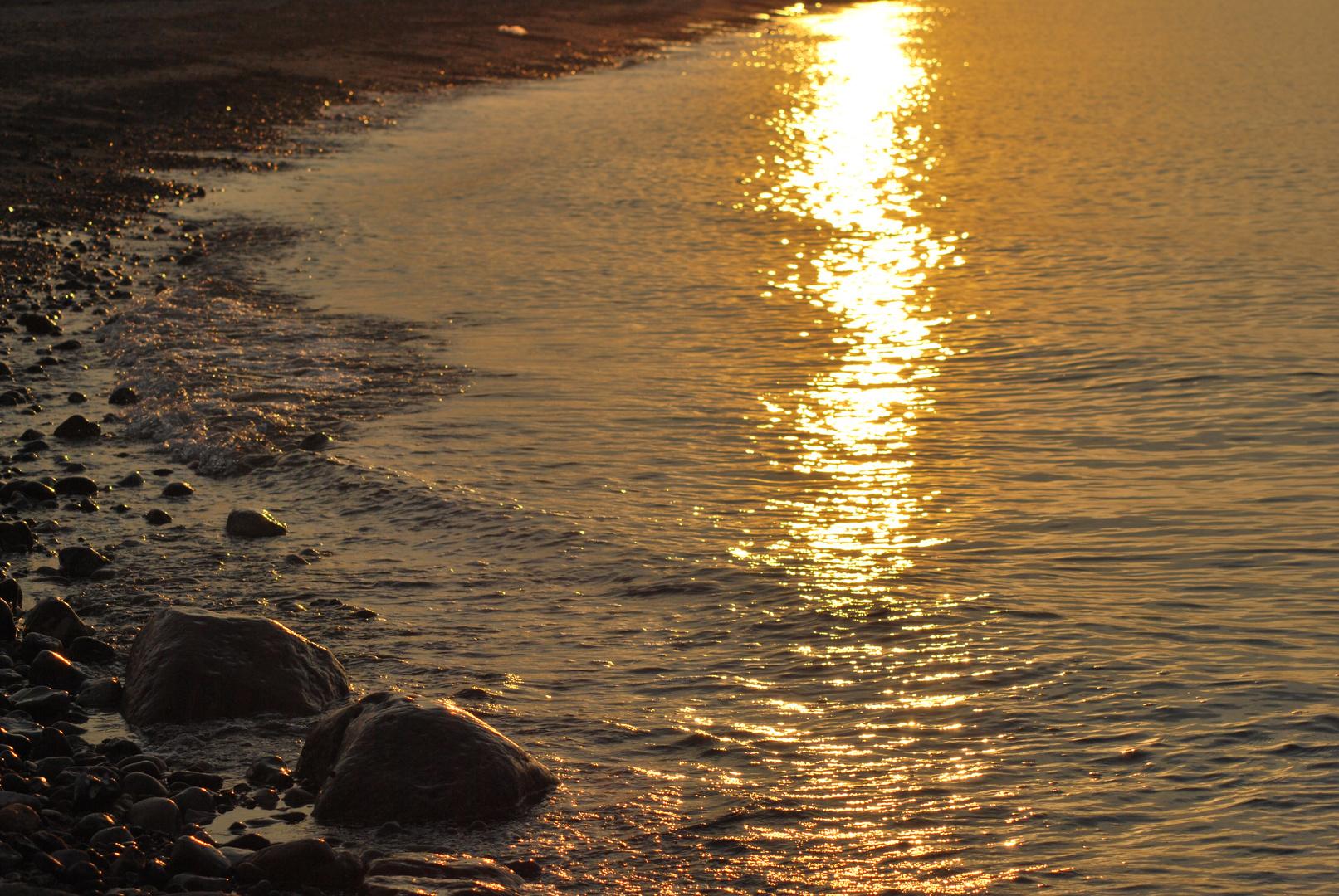 Gold auf der Ostsee
