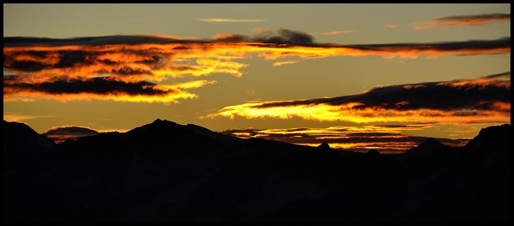 Gold in den Wolken