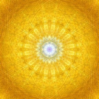 Gold-Mandala