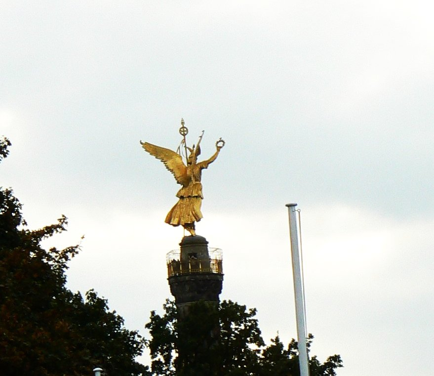 Goldelse  Berlin Siegessäule