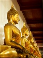 Golden Buddhas Wat Po