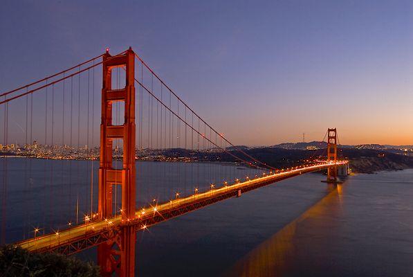Golden Gate 2006 (Winter- kein Nebel)