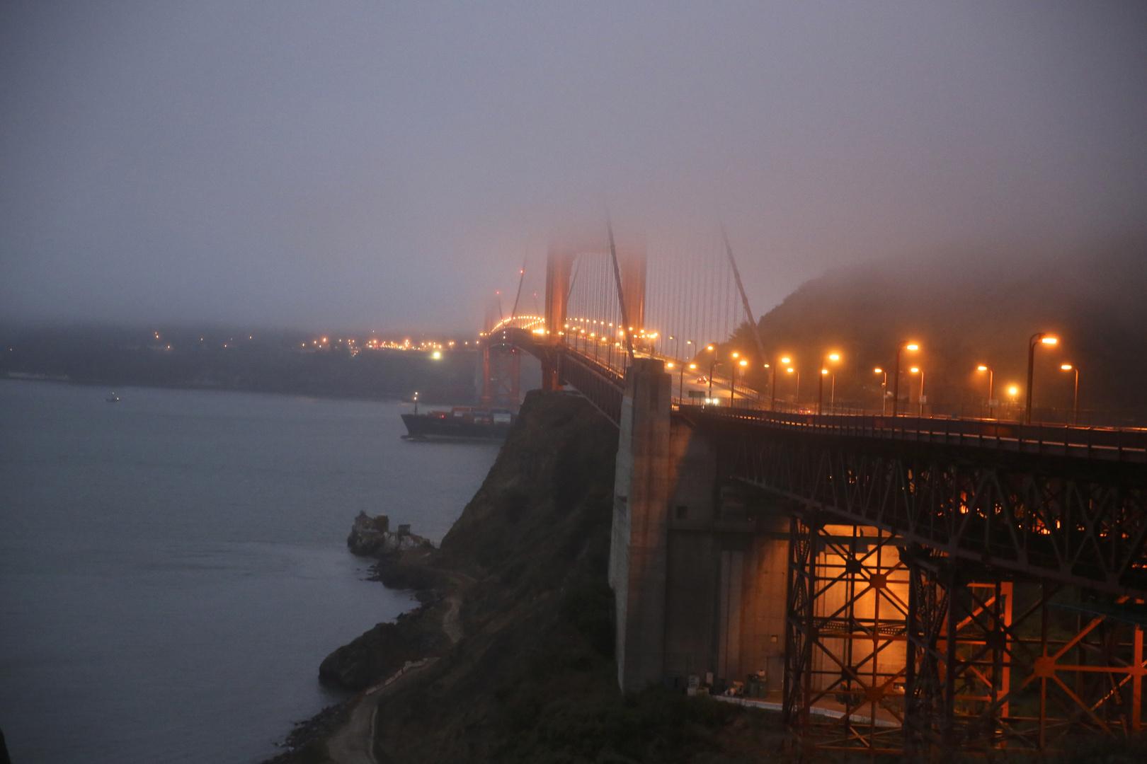 Golden Gate am Morgen