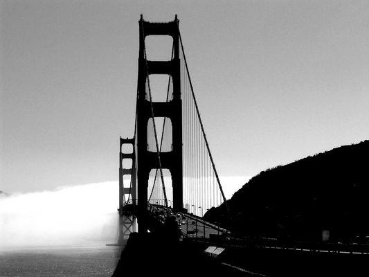 Golden Gate Bridge - a day in SF