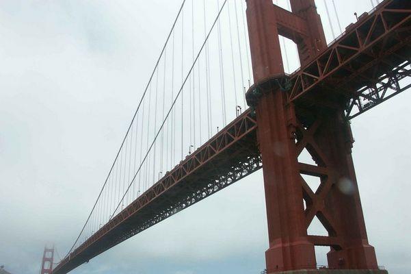 Golden Gate Bridge am Morgen 2 (am Ende des Jumps)
