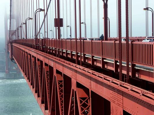 Golden Gate Bridge am Morgen