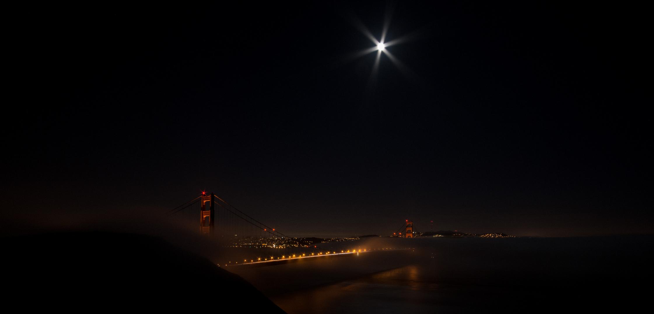Golden Gate Bridge – Bei Nacht