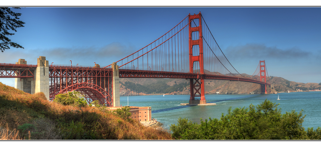 golden gate bridge foto bild panorama techniken. Black Bedroom Furniture Sets. Home Design Ideas