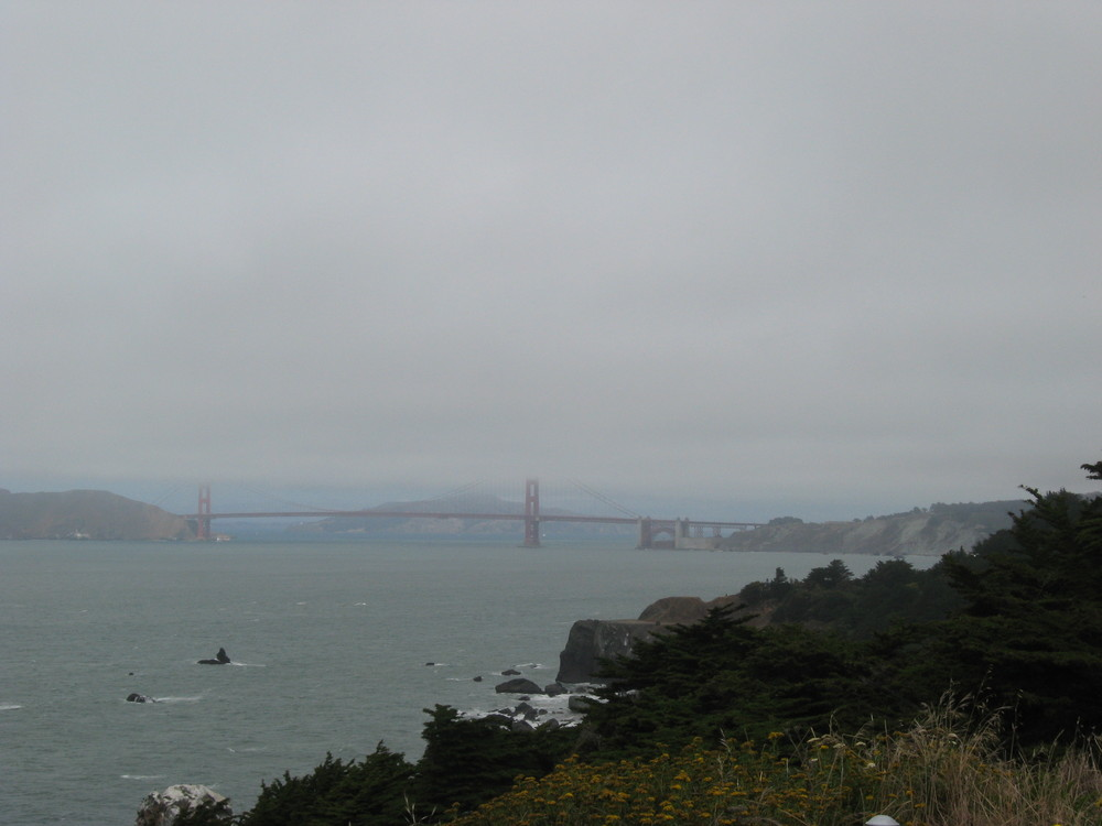 Golden Gate Bridge dans le brouillard