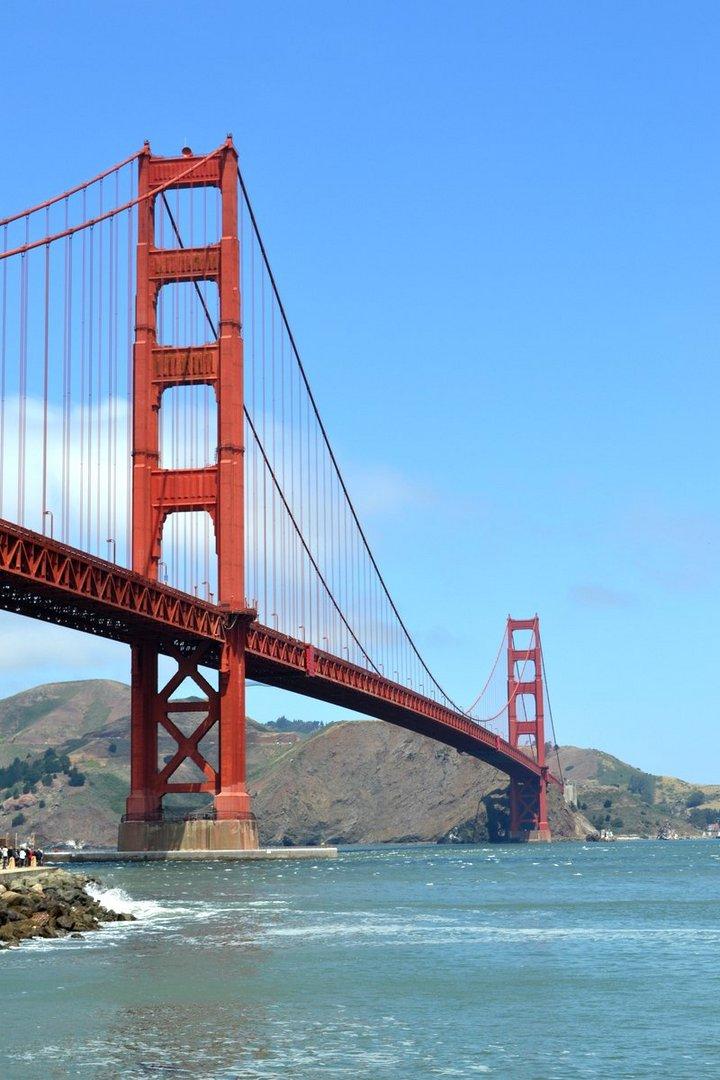 Golden Gate Bridge Mai 2013