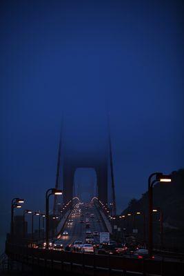 Golden Gate Bridge Morgen
