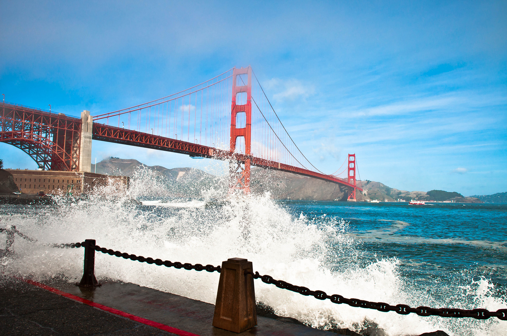 Golden Gate Bridge's wave