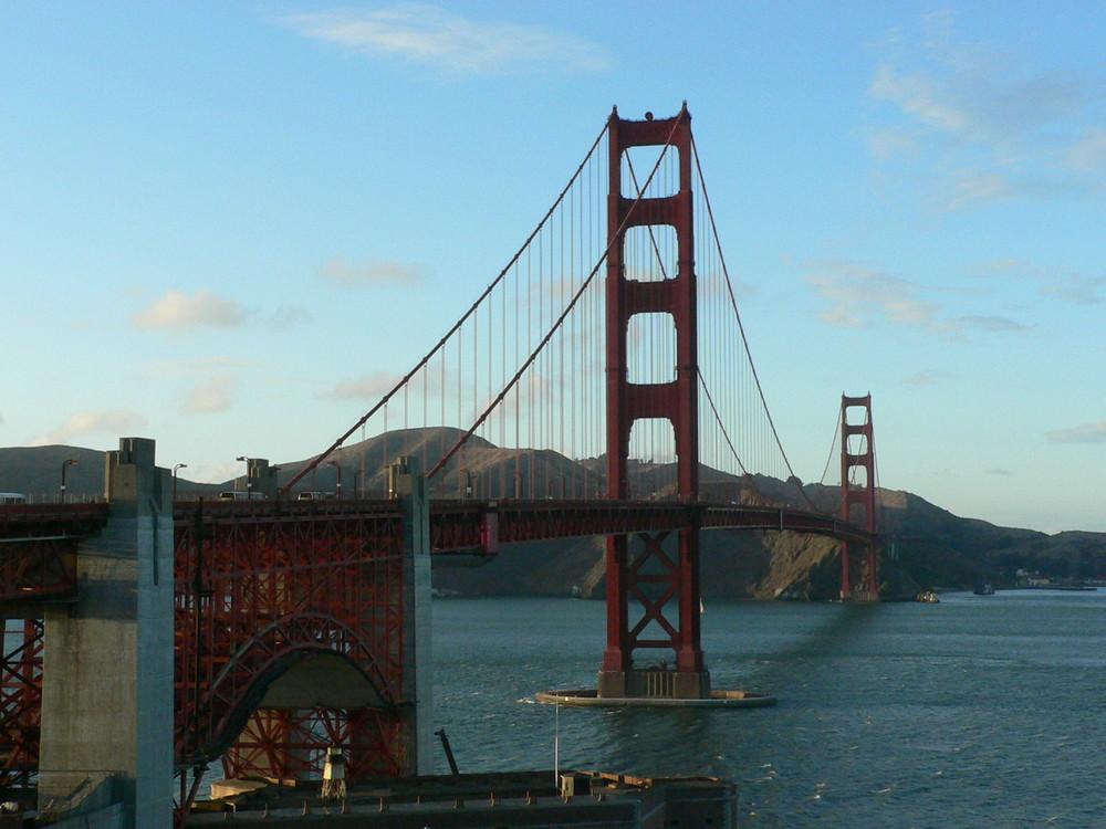 Golden Gate Brücke vom Südufer
