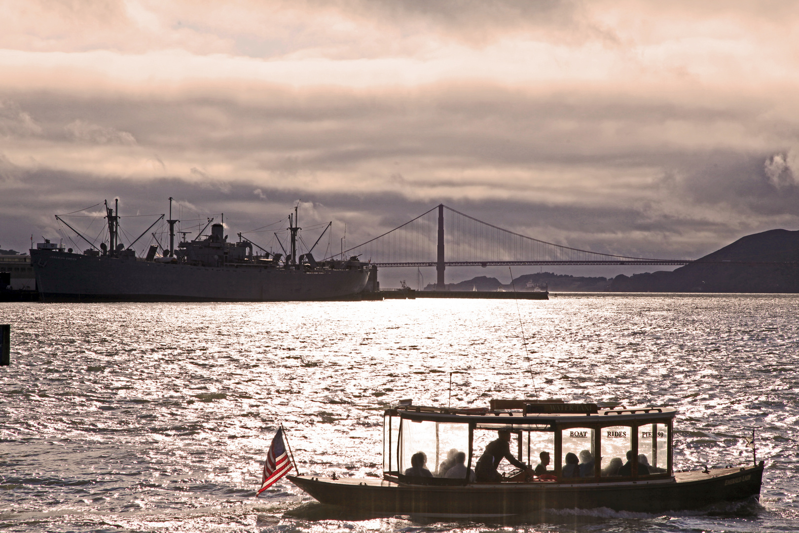 Golden Gate - Golden hour