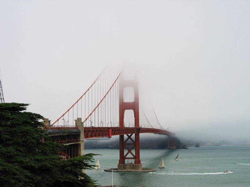 Golden Gate im Nebel