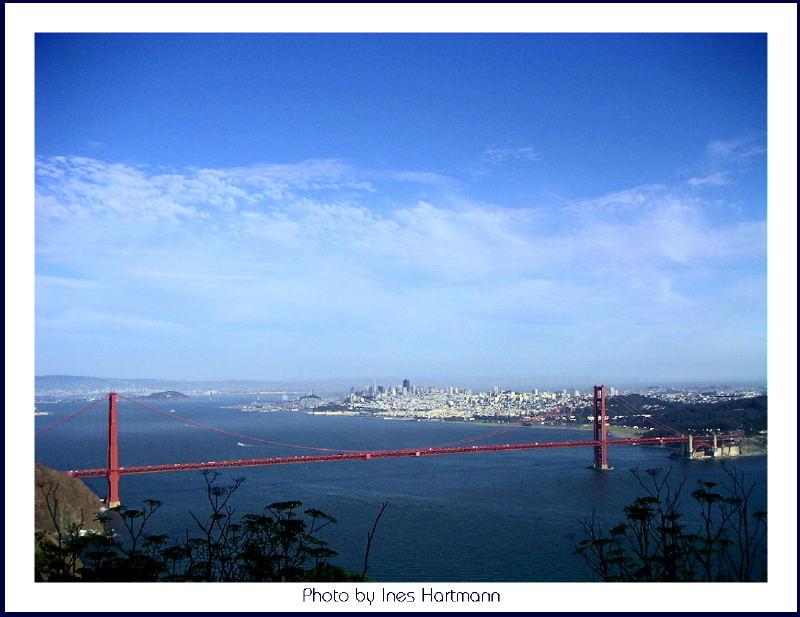 Golden Gate mit San Francisco