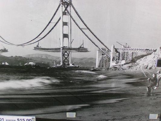 Golden Gate on construction