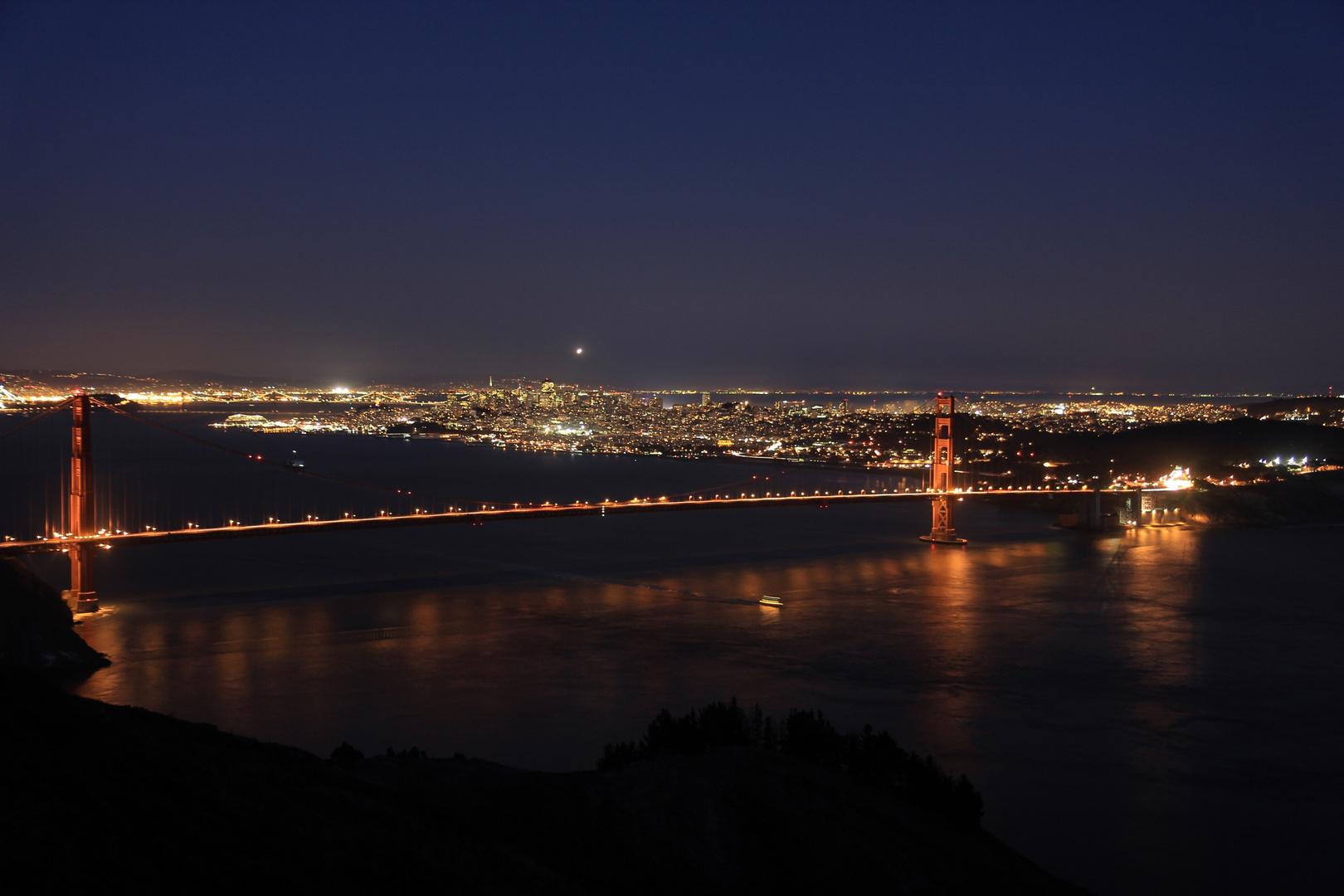 Golden Gate / San Francisco @night