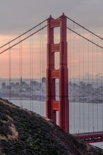Golden Gate Sunrise - HDR Natural