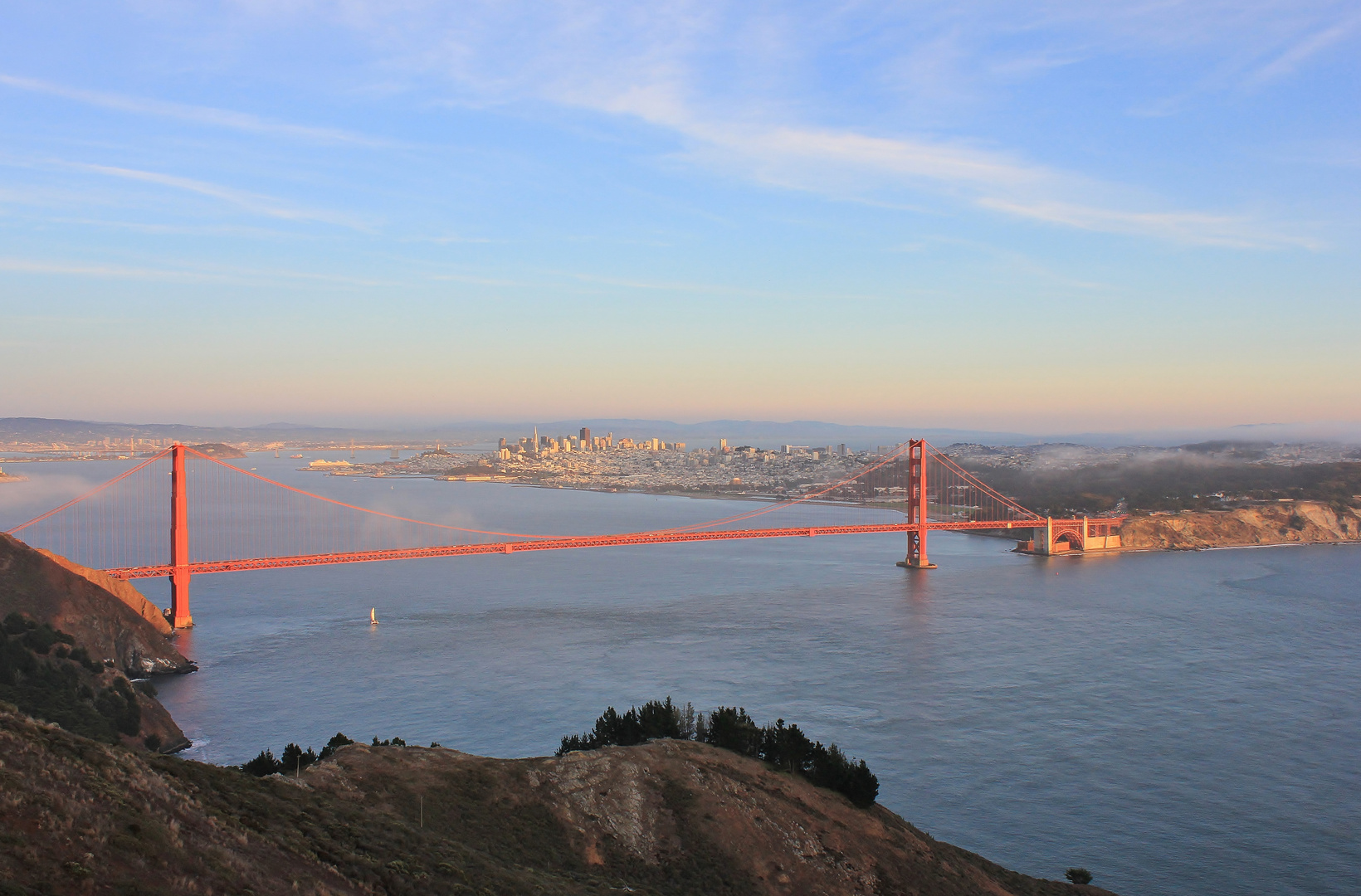 Golden Gate und San Francisco