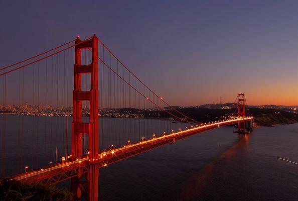 Golden Gate von ihrer schönsten Seite