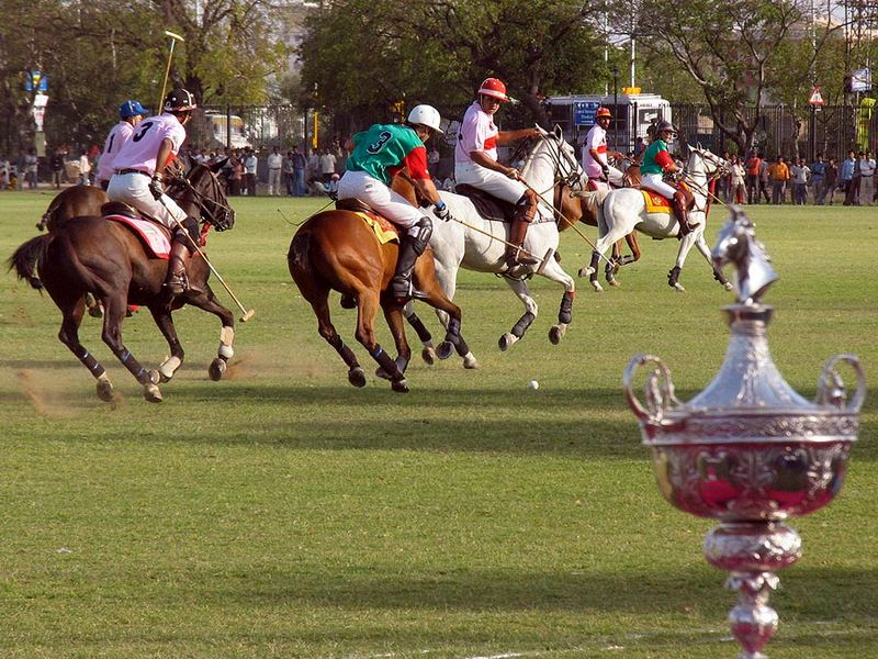 Golden Jubilee International Polo Tournament, Jaipur 2007