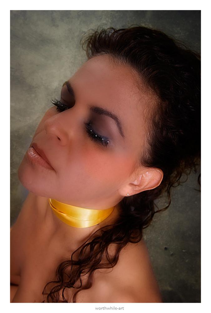 golden - necklace