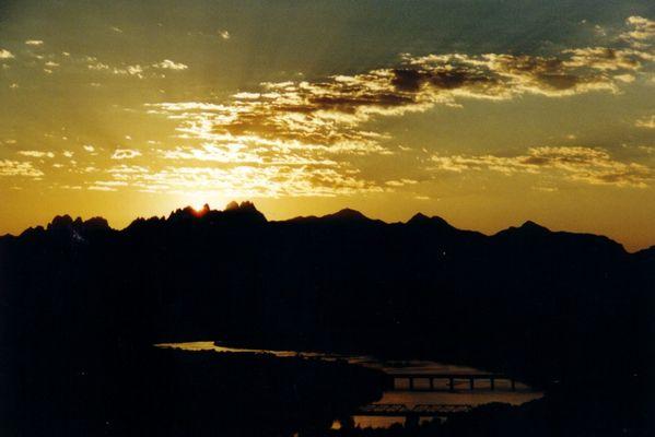 Golden Organ Mountains