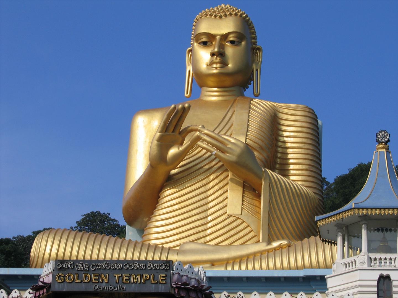 Golden Tempel in Dambulla