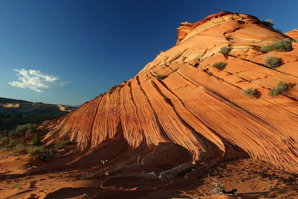 Golden Wall in den Coyote Buttes South