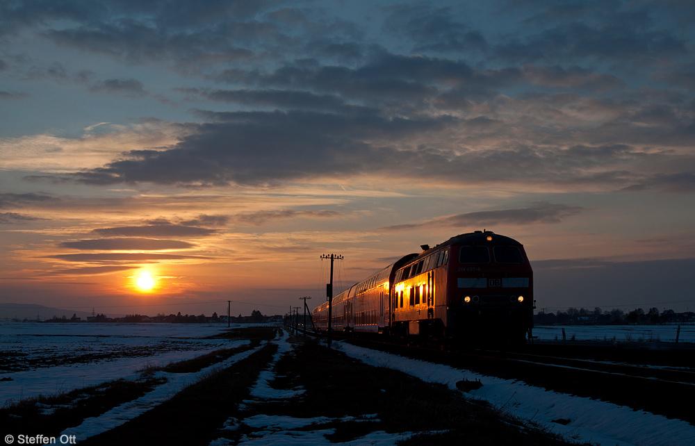 Goldene 218 auf der Horlofftalbahn