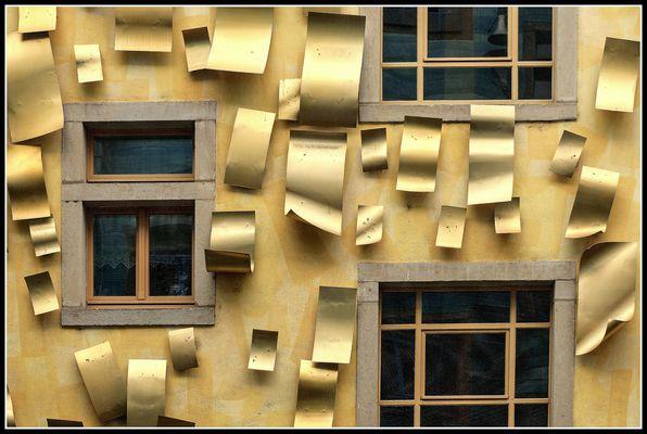 Goldene Alu - Bleche......