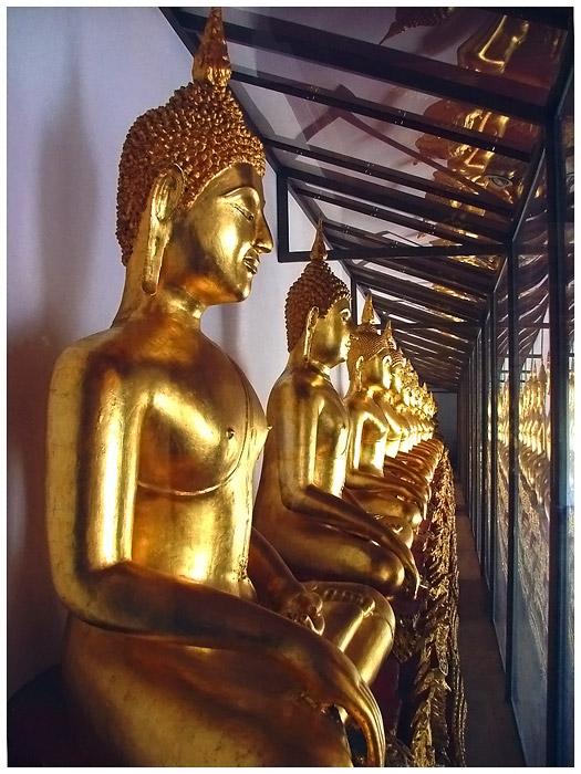 Goldene Budda